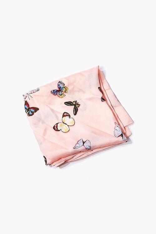 Butterfly Print Handkerchief Top, image 6