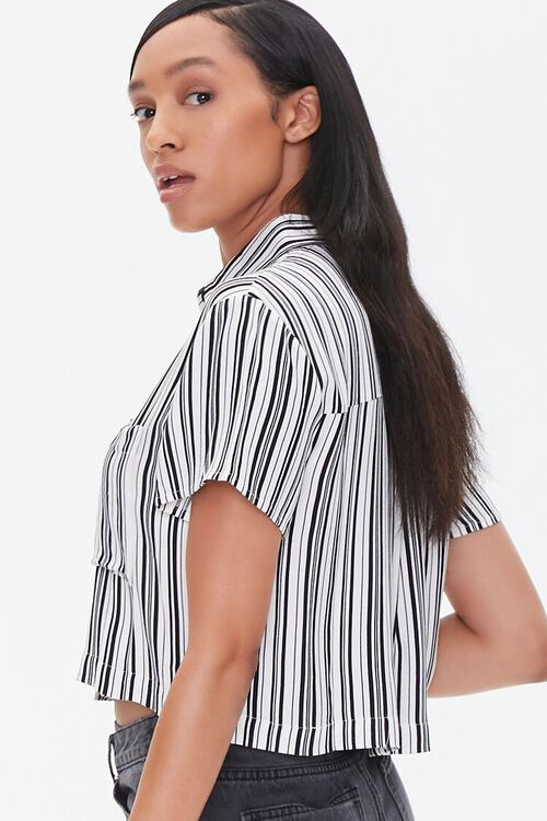 Striped Boxy Pocket Shirt, image 2