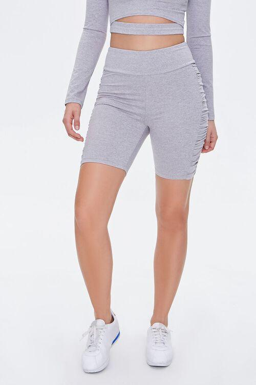 Active Ruched Bike Shorts, image 2
