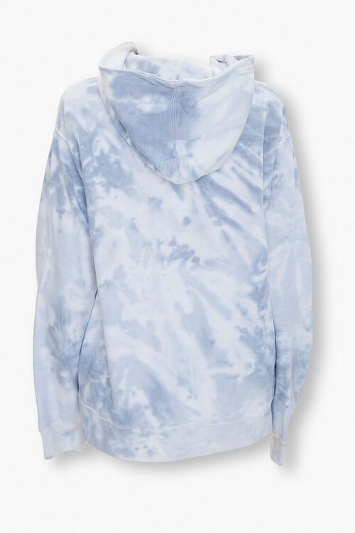 GREY/MULTI Tie-Dye Fleece Hoodie, image 3