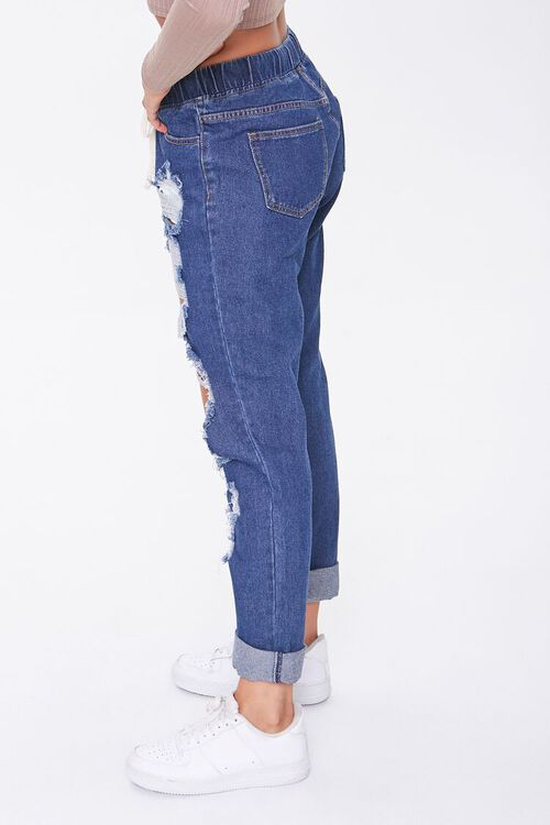 Destroyed Drawstring Jeans, image 2