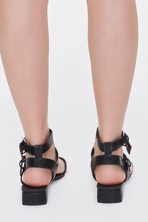 Caged Block Heel Sandals, image 3