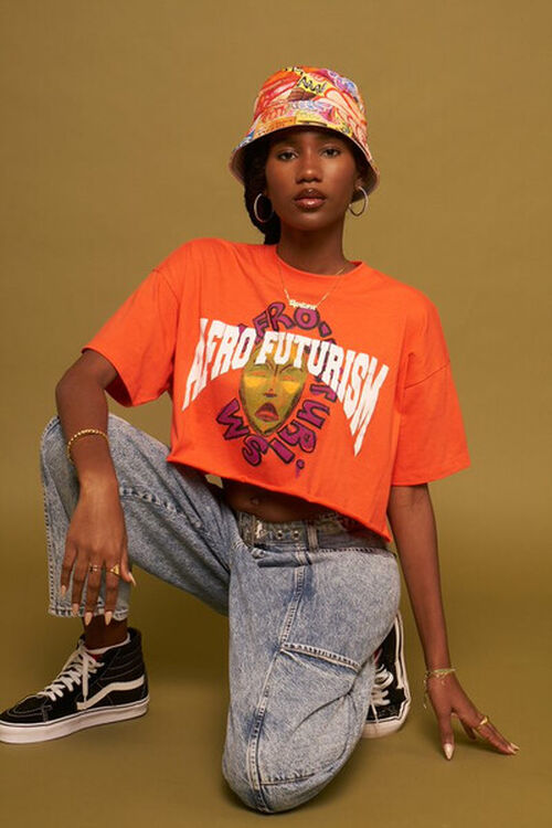 Ashley Walker Afro Futurism Graphic Tee, image 1