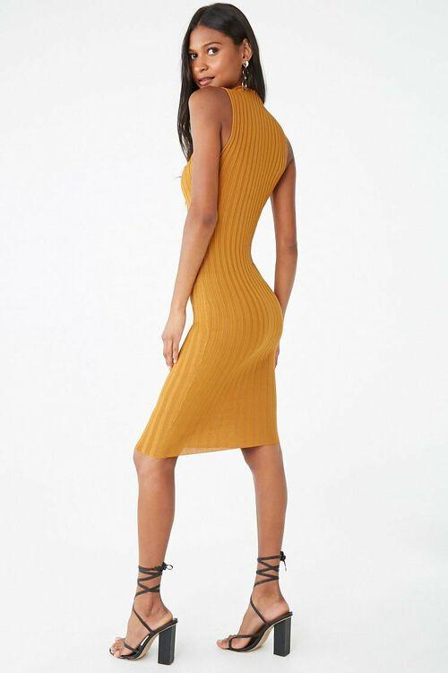 Sleeveless Mock Neck Dress, image 3