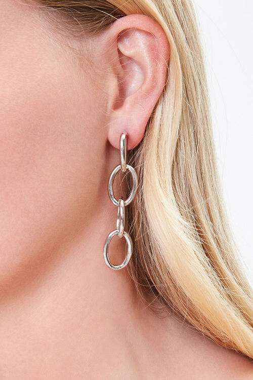 Chain Drop Earrings, image 1