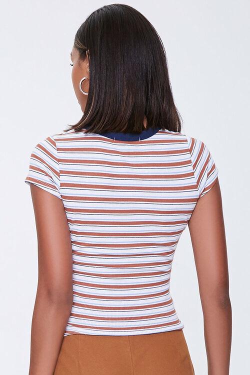 Striped Rib-Knit Tee, image 3