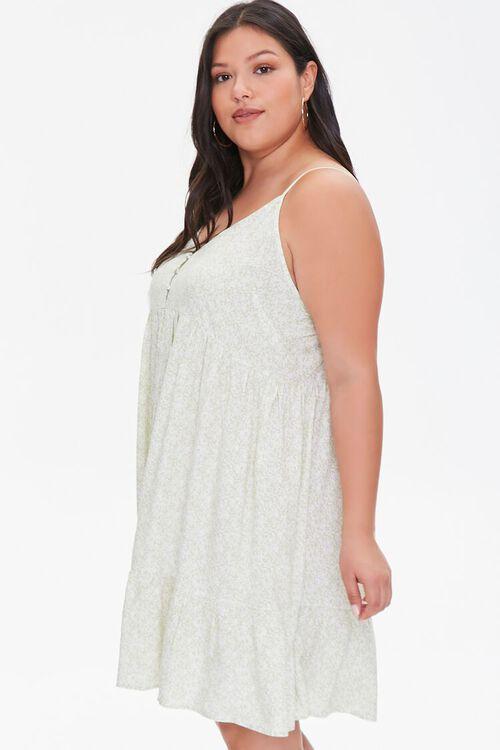 Plus Size Floral Cami Mini Dress, image 2