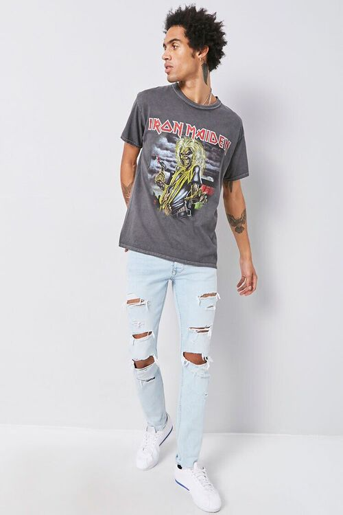 CHARCOAL/MULTI Iron Maiden Graphic Tee, image 4