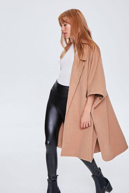 Open-Front Cocoon Coat, image 1