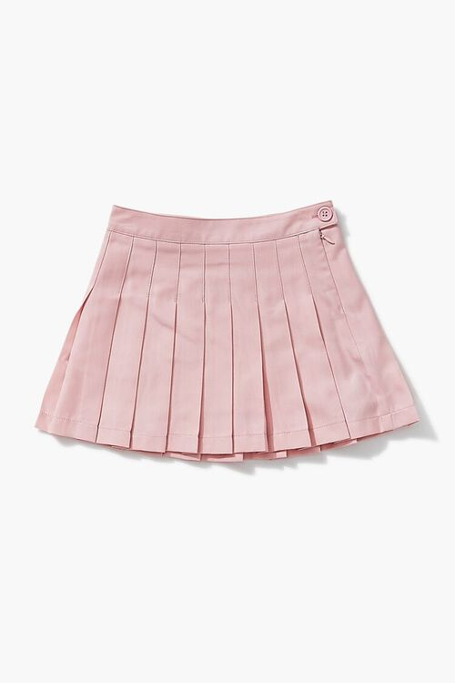 Girls Pleated A-Line Skirt (Kids), image 1