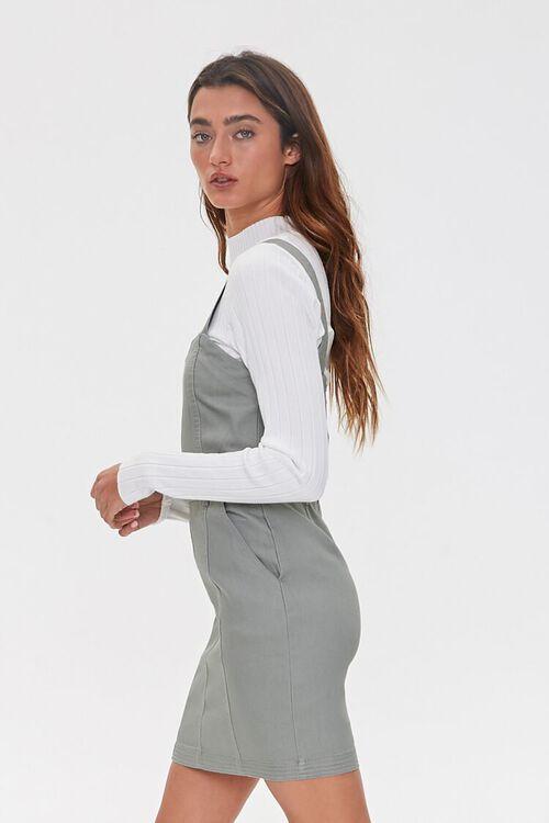SAGE Pinafore Mini Dress, image 2