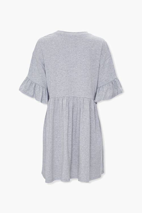 Flounce Trim Swing Dress, image 2