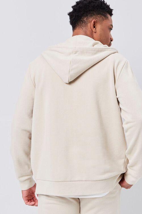 Contrast Zip-Up Hoodie, image 4