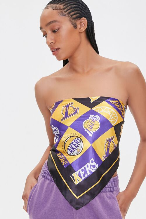 Lakers Graphic Scarf Top, image 5