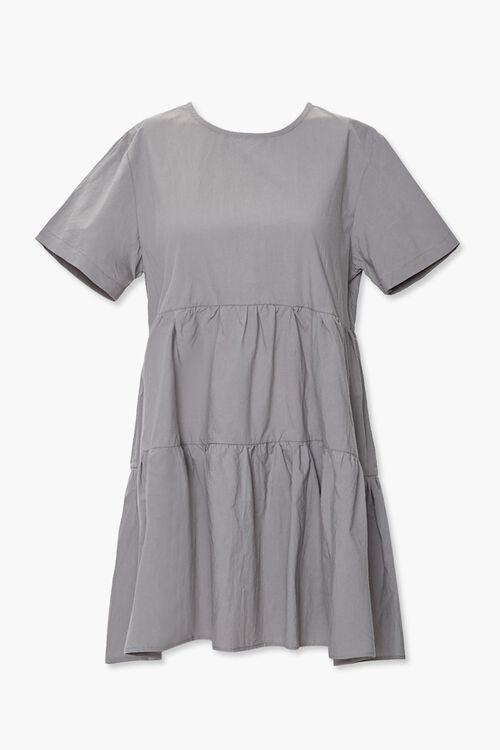 Flounce Shift Mini Dress, image 1