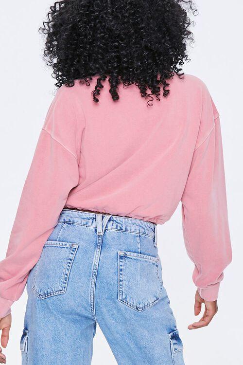 Boxy Self-Tie Drawstring Sweatshirt, image 4