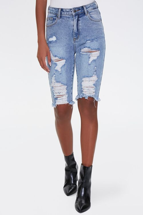 Distressed Bermuda Shorts, image 2