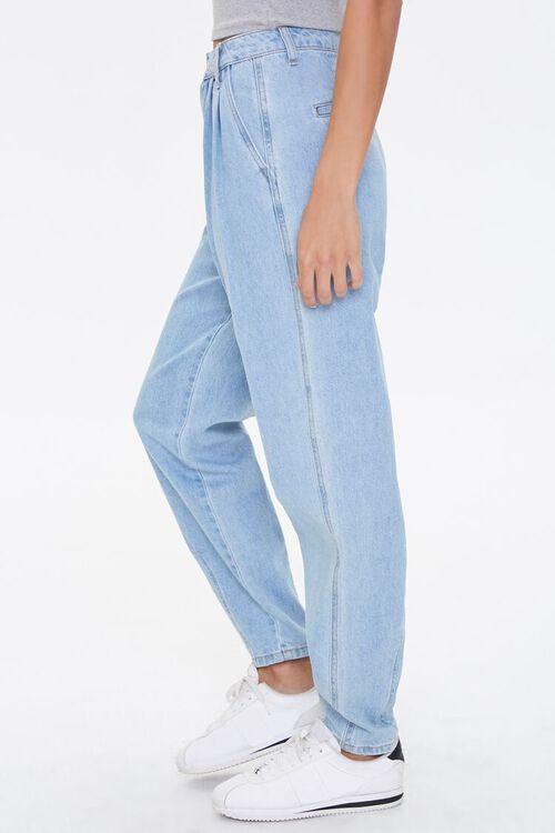 Pleated Straight-Leg Jeans, image 3