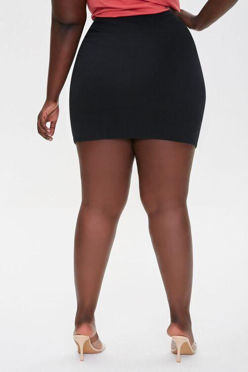 Ruched Drawstring Mini Skirt, image 4
