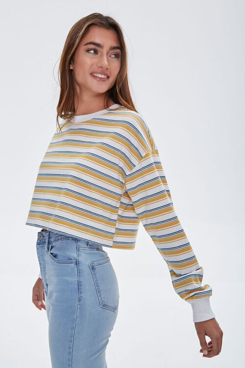Striped Crop Top, image 2