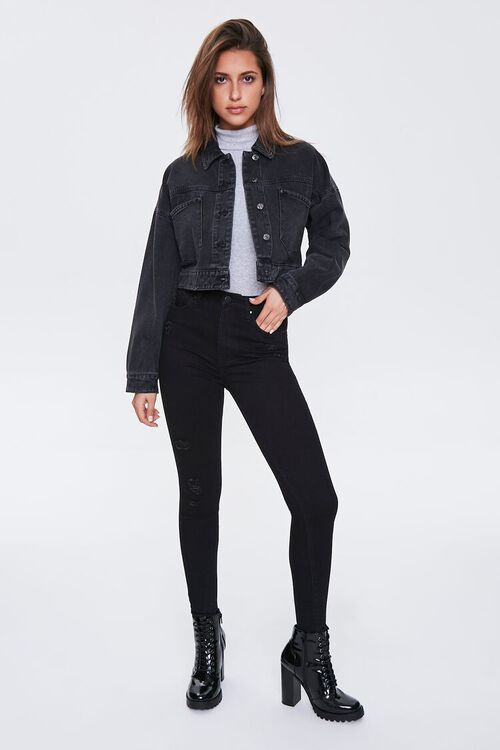 High-Rise Super Skinny Jeans, image 1