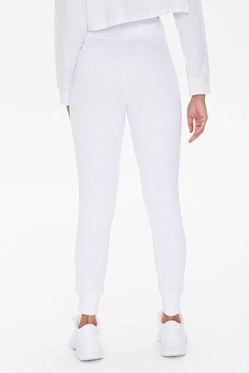 French Terry Lace-Up Joggers, image 4