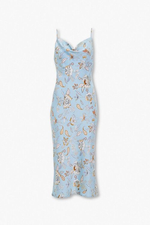 Paisley Print Slip Dress, image 1