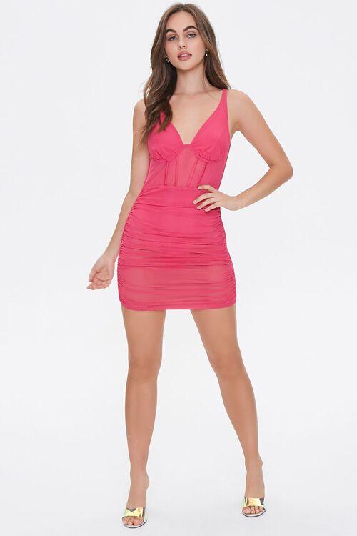 Bustier Mini Bodycon Dress, image 4