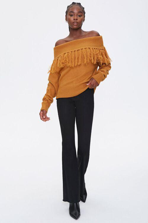 Tassel Off-the-Shoulder Sweater, image 4