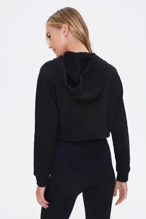 BLACK Active Half-Zip Fleece Pullover, image 3