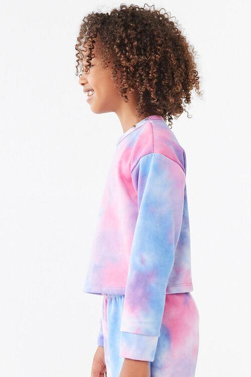 Girls Tie-Dye Sweatshirt (Kids), image 3