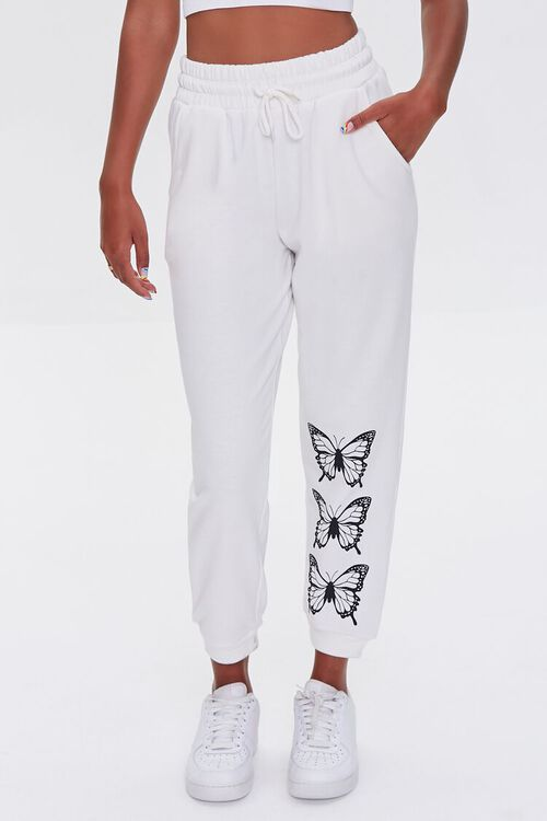 Butterfly French Terry Joggers, image 2
