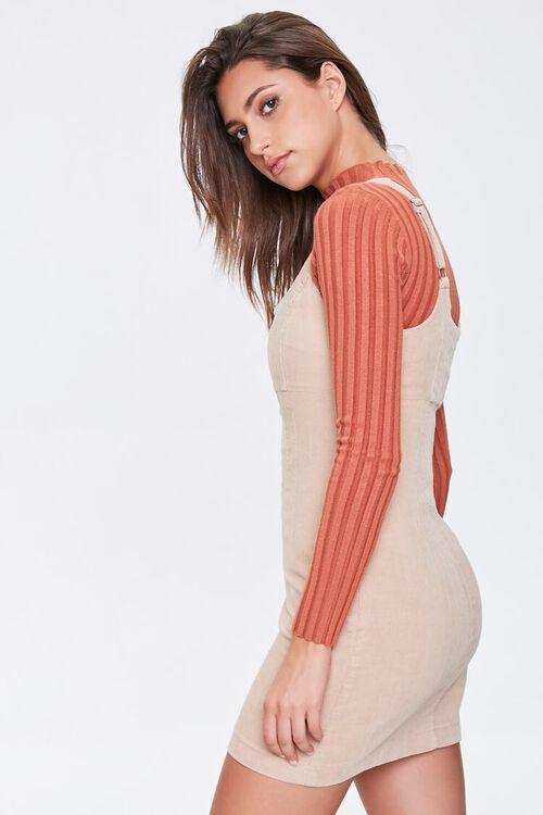 Ribbed Overall Dress, image 2