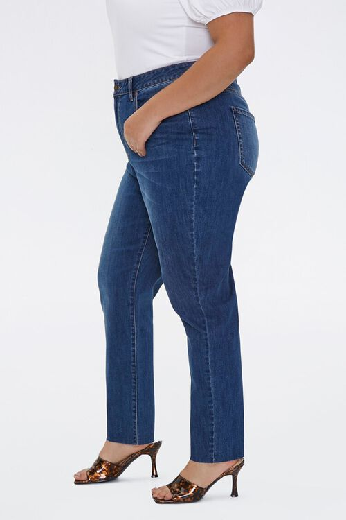 Plus Size High-Rise Mom Jeans, image 3
