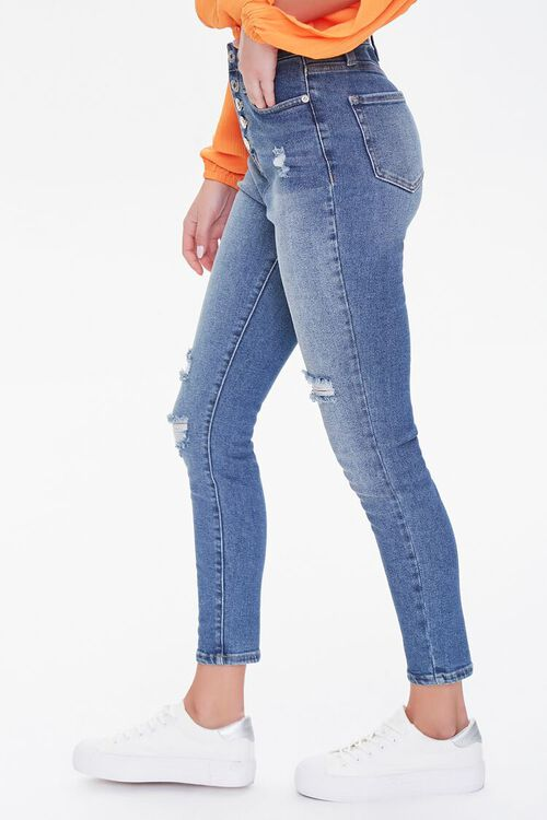 Premium High-Rise Skinny Ankle Jeans, image 3