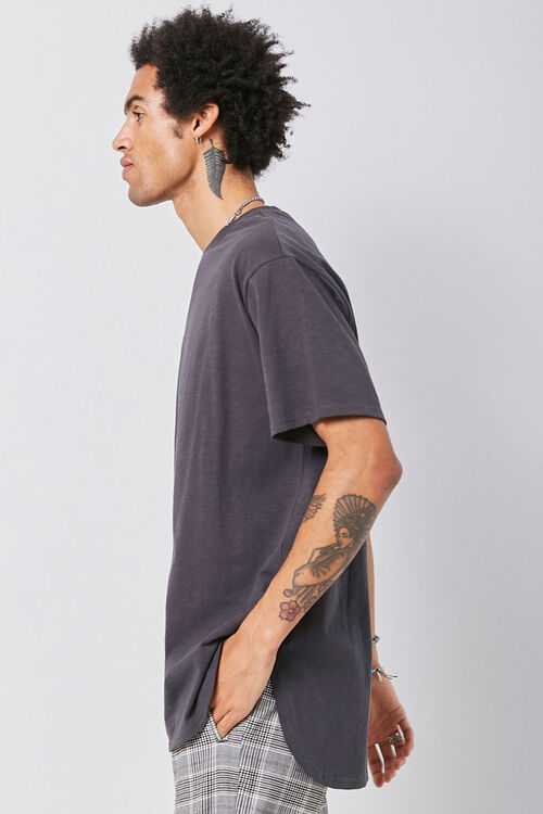 Scoop Hem Knit Tee, image 2