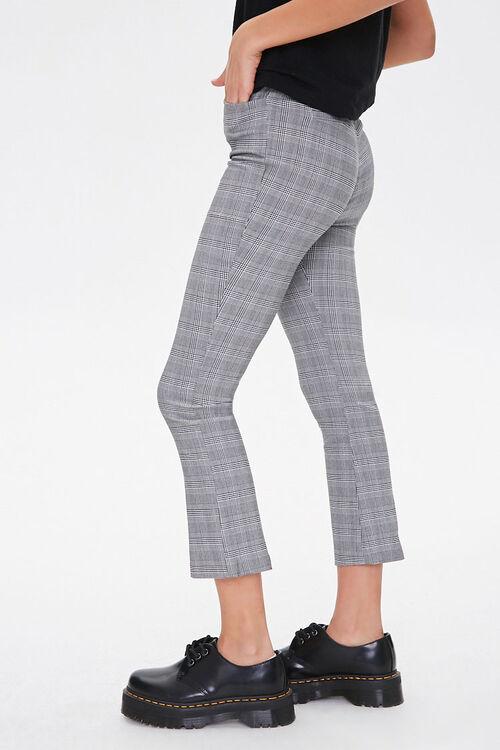 Glen Plaid High-Rise Pants, image 2