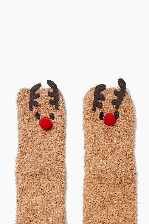 Reindeer Crew Socks Set, image 2
