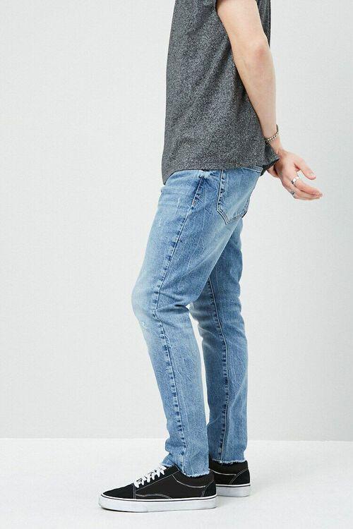 Lightly Distressed Slim-Fit Jeans, image 2
