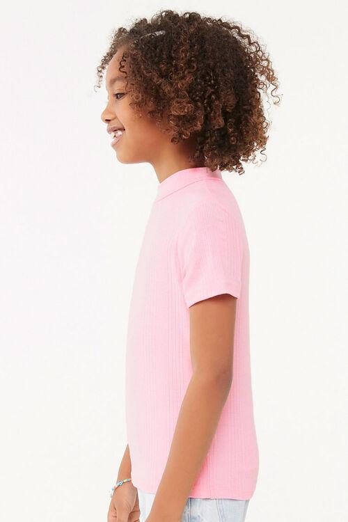 Girls Mock Neck Top (Kids), image 2