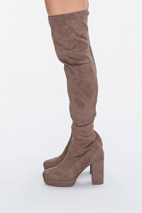 Thigh-High Platform Boots, image 2