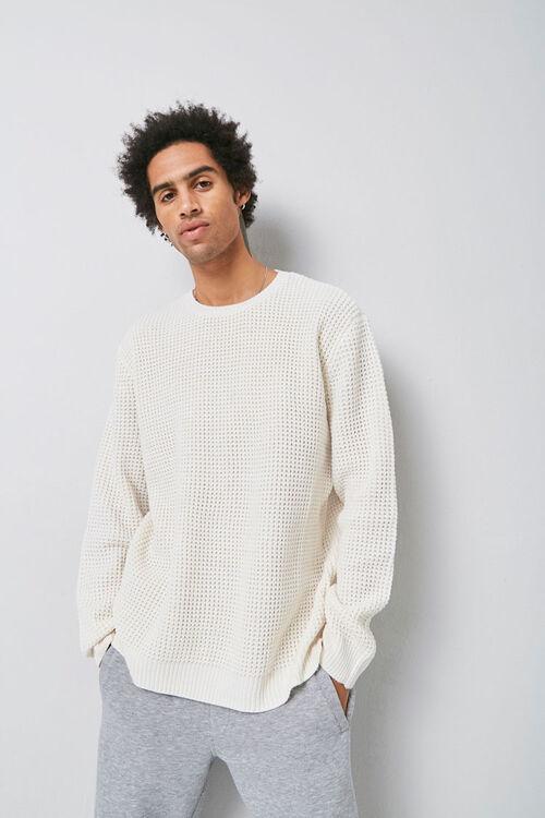 Waffle Knit Sweater, image 1