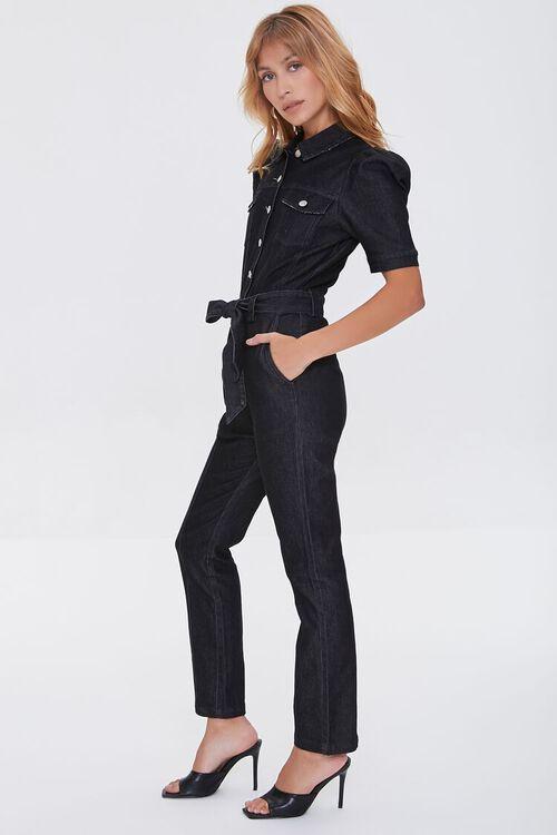Denim Button-Up Jumpsuit, image 2