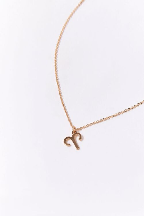 Aries Charm Necklace, image 1