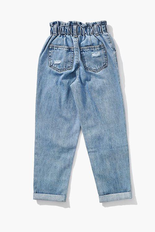 Girls Paperbag Jeans (Kids), image 2