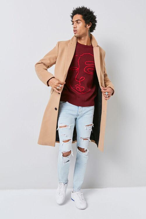Notched Longline Coat, image 5