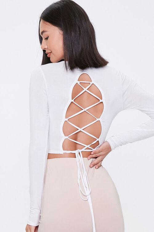 Lace-Back Crop Top, image 3