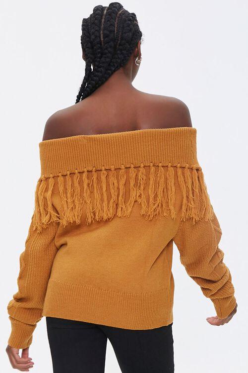 Tassel Off-the-Shoulder Sweater, image 3