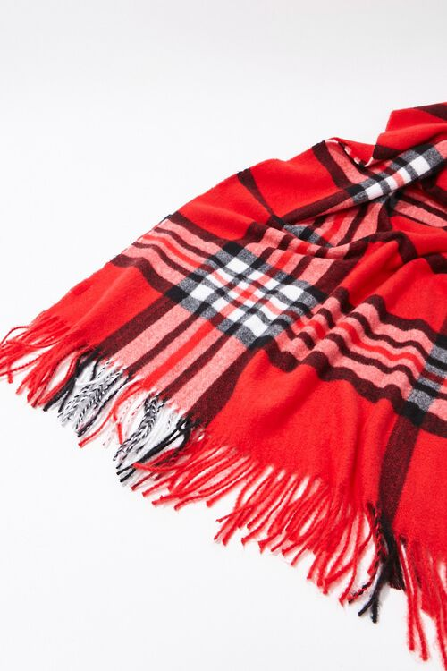 Plaid Oblong Scarf, image 3