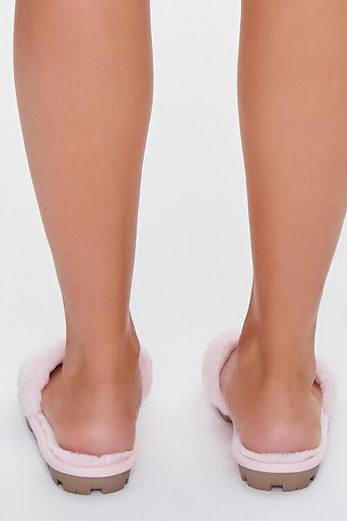Faux Fur Lug Sole Slippers, image 3